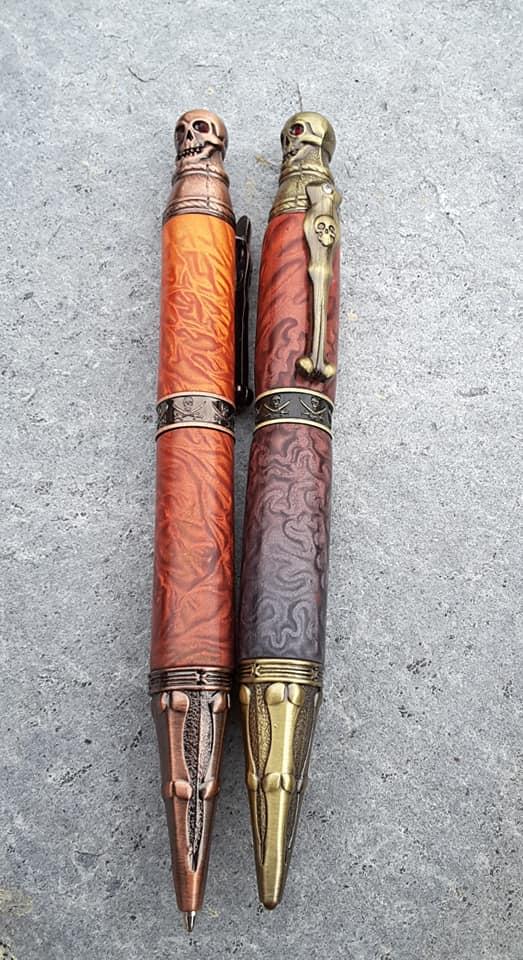 polymer clay pens by irmi knarr