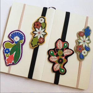 polymer clay bookmarks
