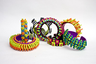 polymer clay bracelets from syndee holt