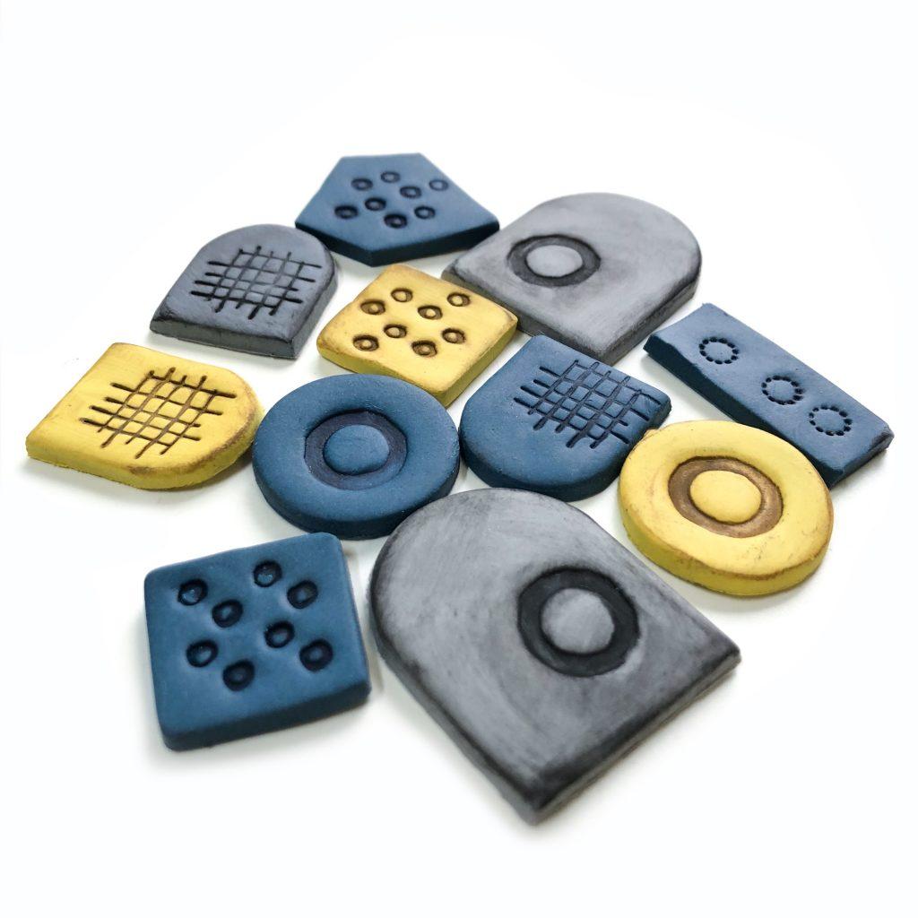 polymer clay earring components heidi helyard
