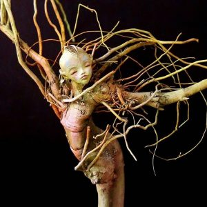 figurative sculpture rosina gaudio polymer clay