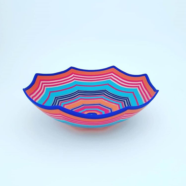 polymer clay bowl by kate lee foley