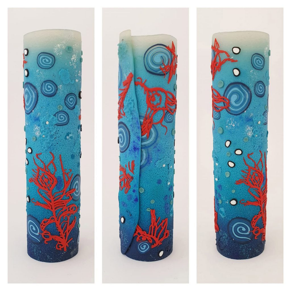 sealife cylinder polymer clay kate lee foley