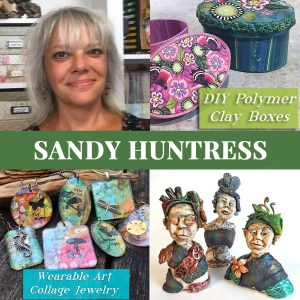 Sandy Huntress polymer clay teacher