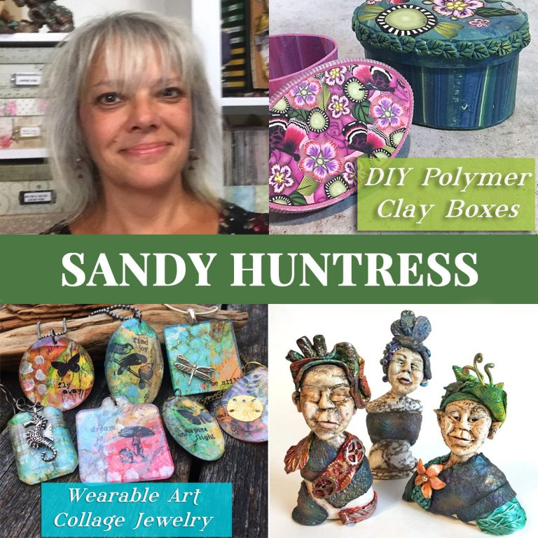 Sandy Huntress polymer clay teacher